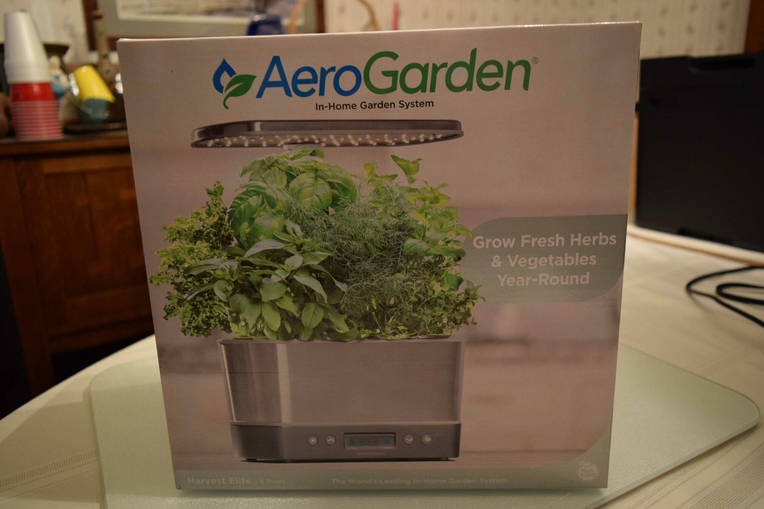 AeroGarden Elite Harvest Box